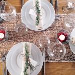 Ideje za dekoraciju stola: Jednostavna elegancija