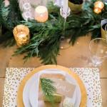 Ideje za dekoraciju stola: Zelenilo je IN