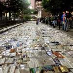 Rijeka knjiga preplavila ulicu u Torontu