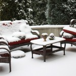 Gdje i kako odlagati vanjski namještaj tokom zime