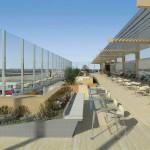 Evo kako će izgledati vidikovac na krovu beogradskog aerodroma
