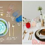 Prisjetimo se osnovnih pravila postavljanja i ukrašavanja stola
