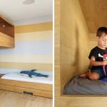 """Dječja soba sa """"gnijezdom"""" za igru"""