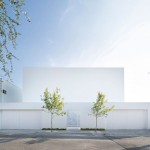 Moderna meksička rezidencija sa pogledom na planine