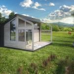 Novosadski dizajn studio osmislio koncept mini montažne kuće