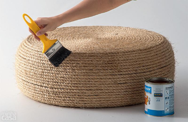 Uradi sam: Kako napraviti tabure od automobilske gume  DOM INFO