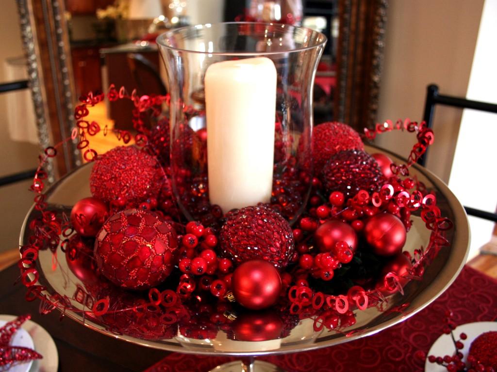 novogodisnji ukras za sto