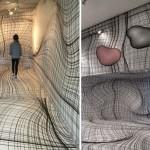 Sobe sa optičkim iluzijama od kojih će vam se zavrtiti u glavi