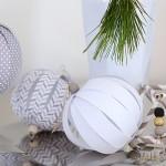 Sami izrađujemo novogodišnje ukrase: Preslatke kuglice od papira