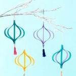 Sami izrađujemo novogodišnje ukrase: Jednostavni papirni ornamenti