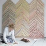 Jedna Dankinja obične podove pretvara u šarenilo duginih boja