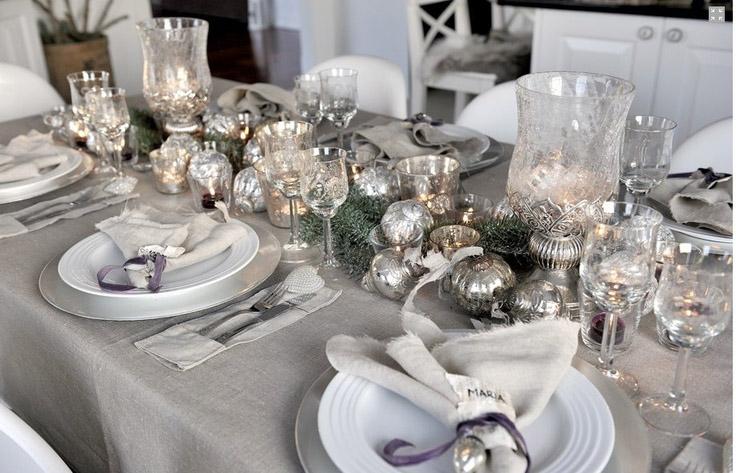 srebrene dekoracije su neutralne