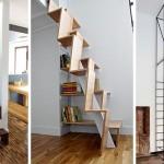 13 odličnih rješenja stepeništa u malim prostorima