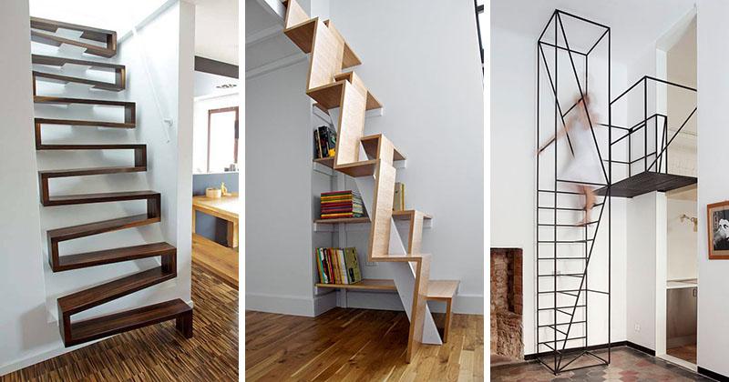 13 odli nih rje enja stepeni ta u malim prostorima dom info - Stairs in a small space model ...