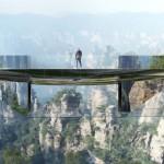 Transparentan most koji kao da nestaje u vazduhu