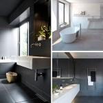 Ideja za uređenje: Velike pločice na zidovima i podovima kupatila