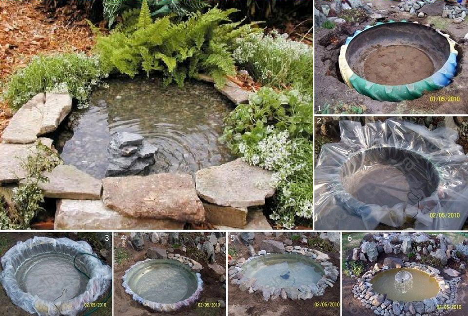 kako napraviti mini jezerce