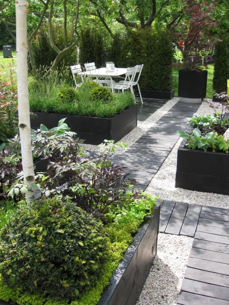 kako napraviti stazu za dvoriste