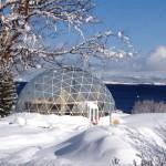 Porodica živi ispod solarne kupole na Arktiku