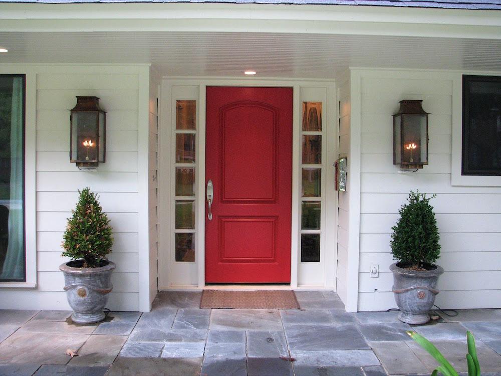 crvena ulazna vrata