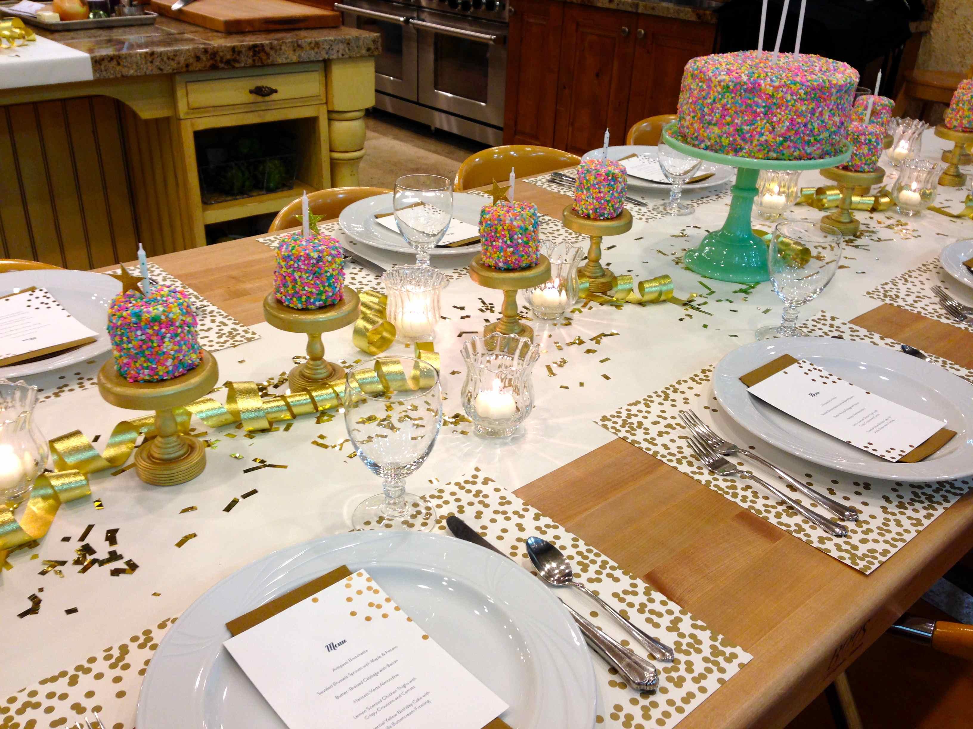 dekoracija stola za rođendan 4