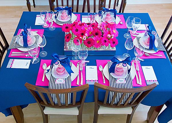 dekoracija stola za rodjendan