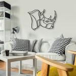 Ukrasne 3D skulpture za zid