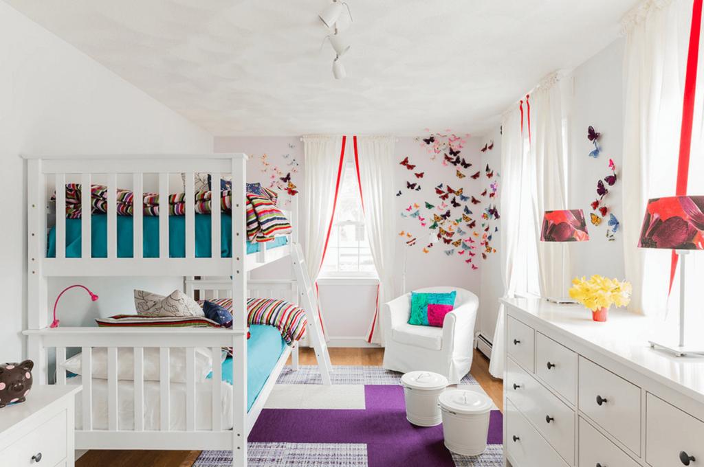 kako urediti sobu za dvoje djece