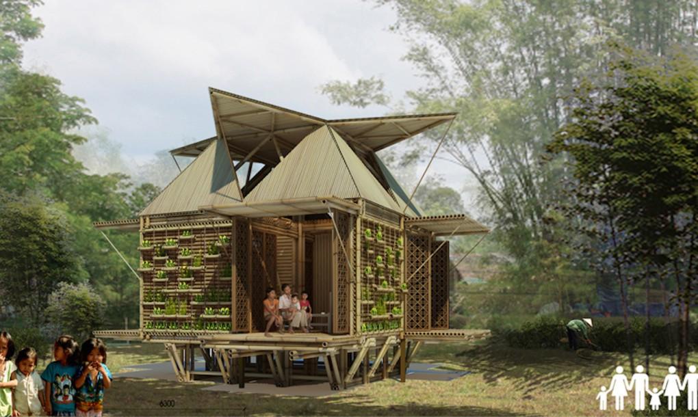 kuca od bambusa
