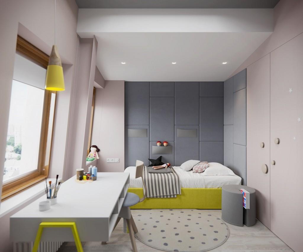 neutralne boje za djecju sobu