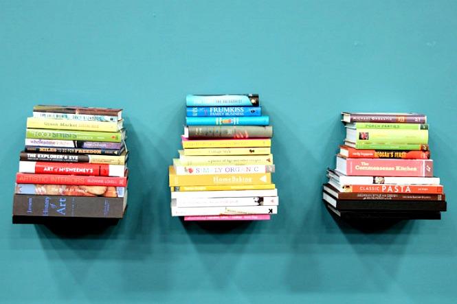 nevidljiva polica za knjige