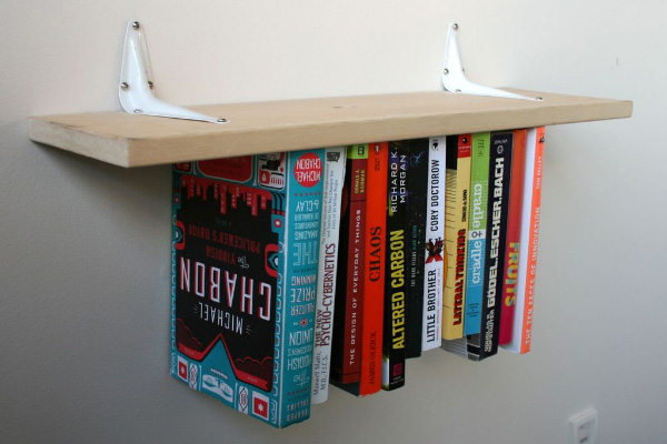 obrnute police za knjige