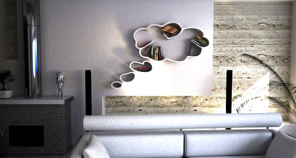police za knjige oblak