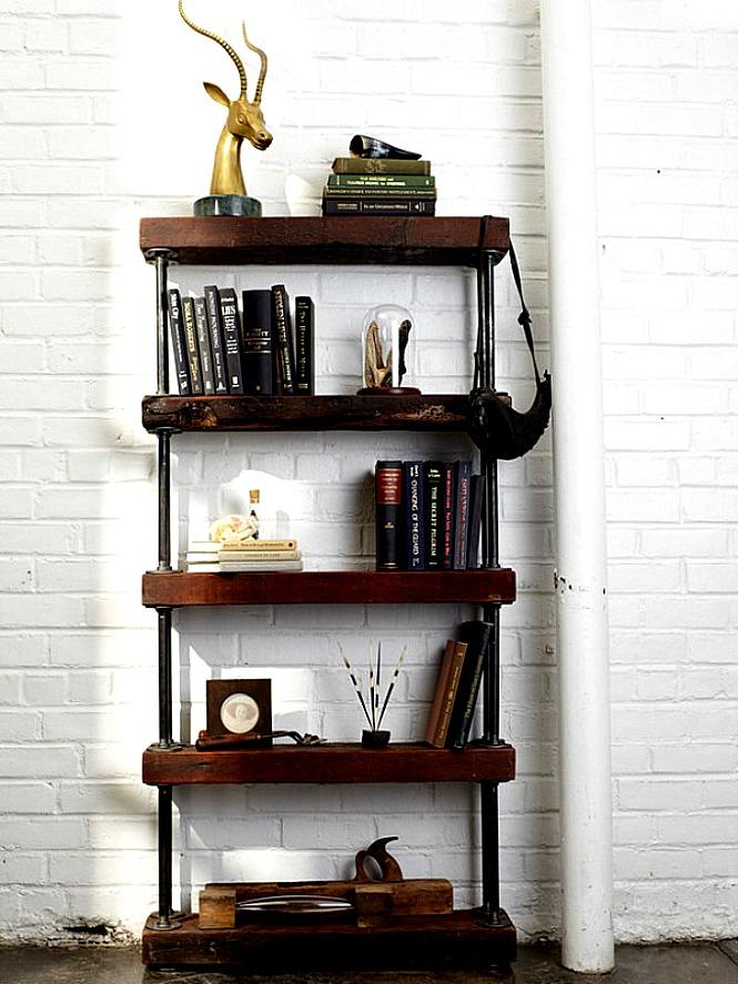 police za knjige od metala i drveta