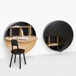 Radni sto koji možete pretvoriti u ormarić