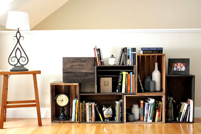 sanduk police za knjige