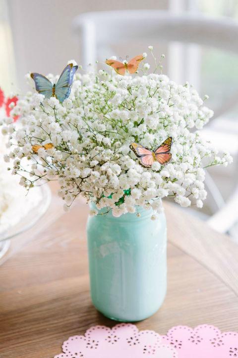 slajer cvijece dekoracija za sto