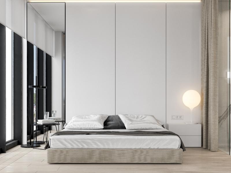 spavaca soba minimalizam