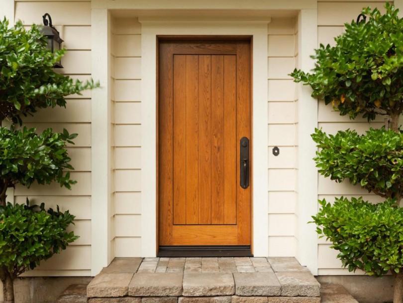 ulazna vrata za kucu drvena