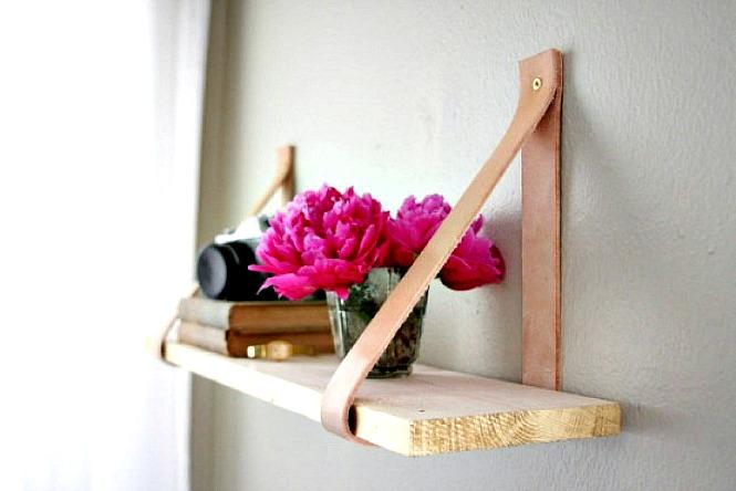 viseca polica za knjige