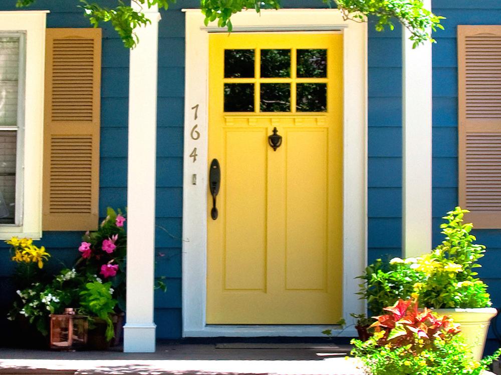 zuta ulazna vrata