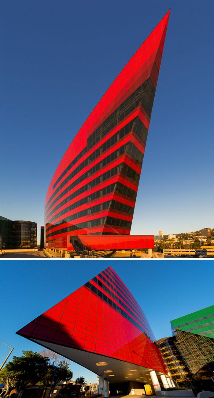 crvena zgrada los angeles