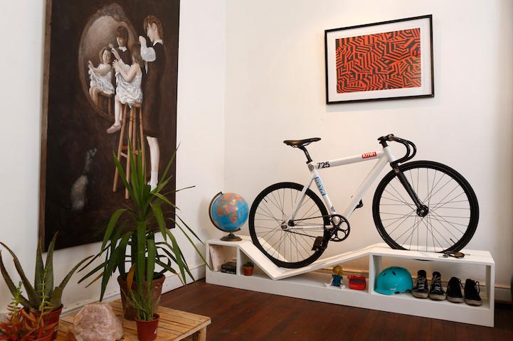 odlaganje bicikla u stanu