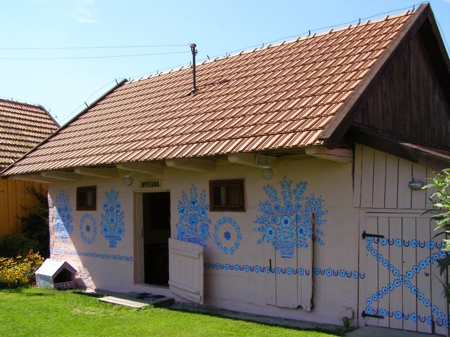 oslikane kucice u poljskoj