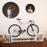 Namještaj koji rješava problem odlaganja bicikla u stanu