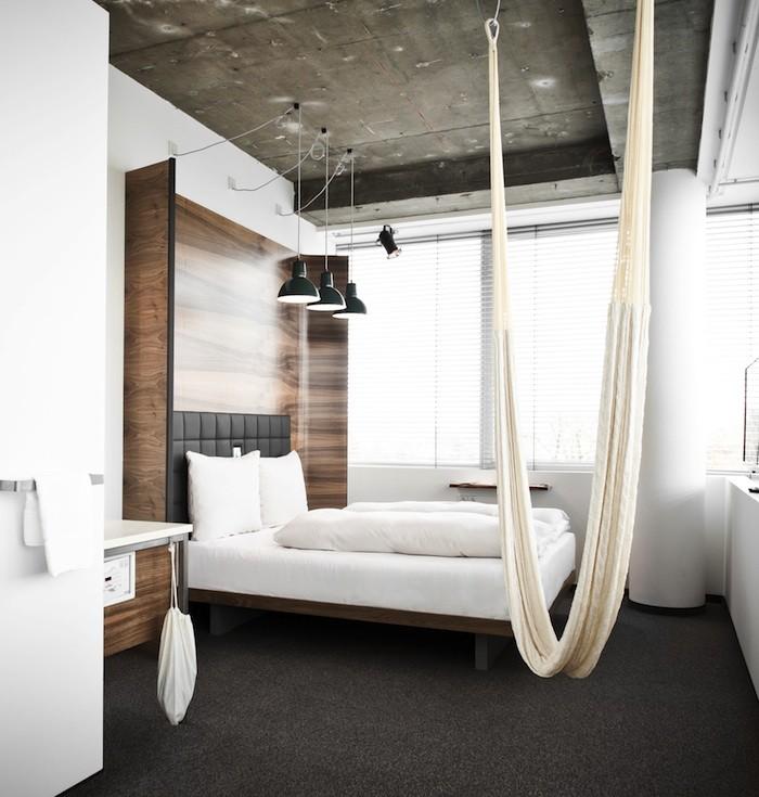 viseca mreza u spavacoj sobi