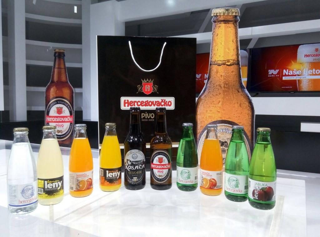 Hercegovačka pivovara-sponzori zabavnog programa na Mostarskom sajmu