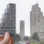 Papirne makete inspirisane sovjetskom arhitekturom