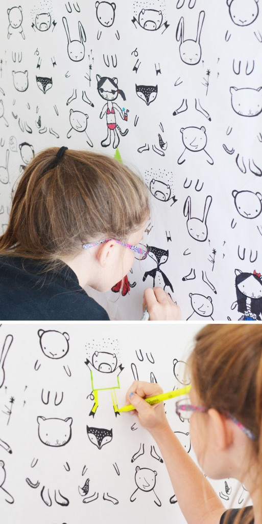 crtanje po zidu