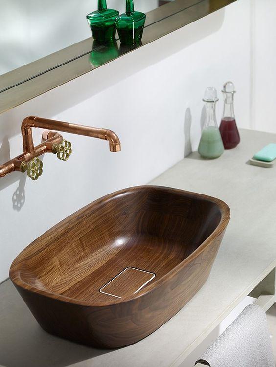 drveni lavabo